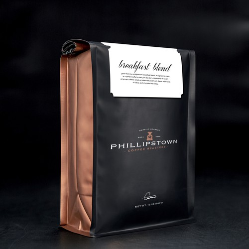 Phillipstown Coffee Roasters - New Bag Design