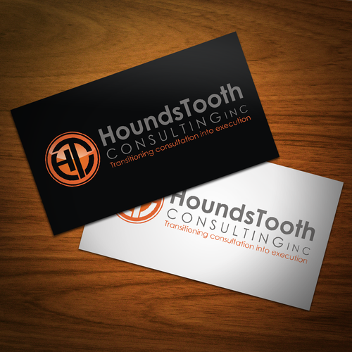 HoundsTooth Consulting Inc. needs a new logo and business card