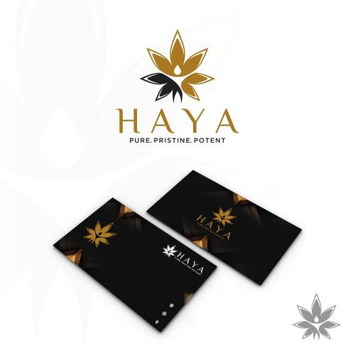 HAYA - Winning Logo