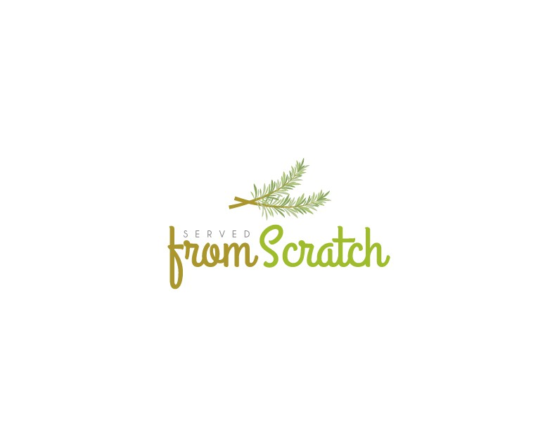 From Scratch food blog needs a simple, professional logo