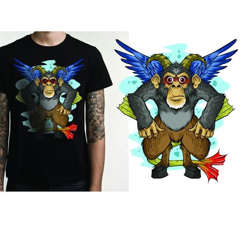 chimera monkey tees