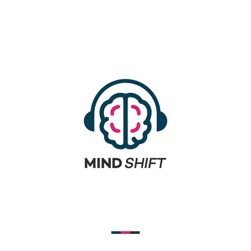 Brand Identity for Podcast Mindshift