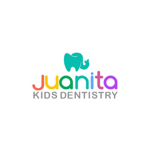 create logo and website for pediatric dental clinic