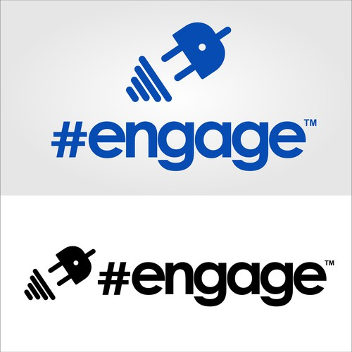 Logo concept for #engage