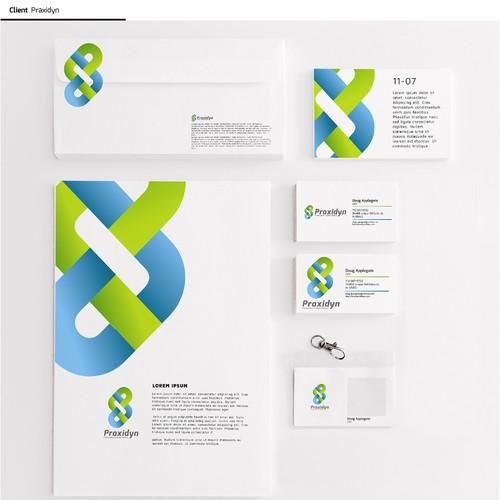New identity for: Praxidyn      Practical Ideas. Powerful Solutions.