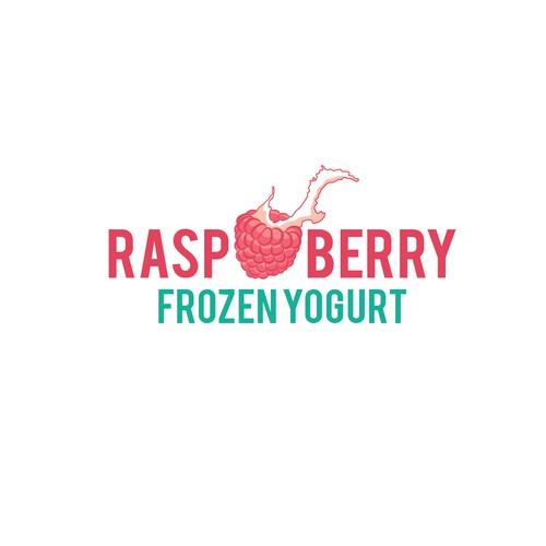 Raspberry Frozen Yogurt