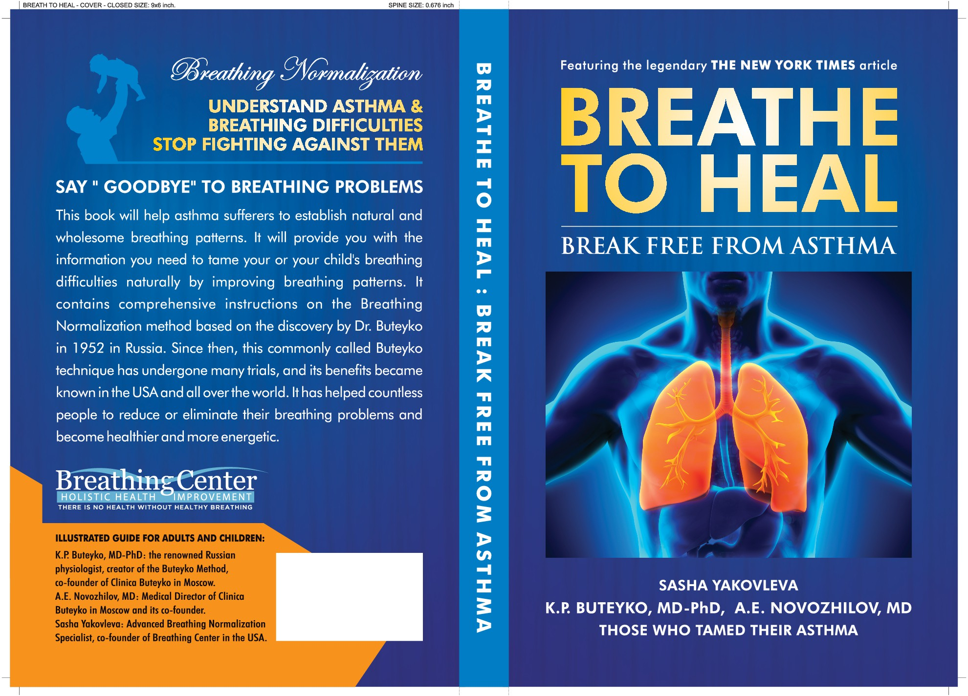 Breathe To Heal: Break Free From Asthma - create a cover for this book!