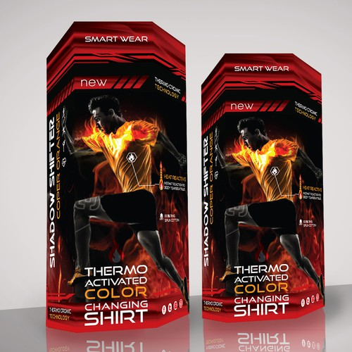 thermo activated color changing shirt