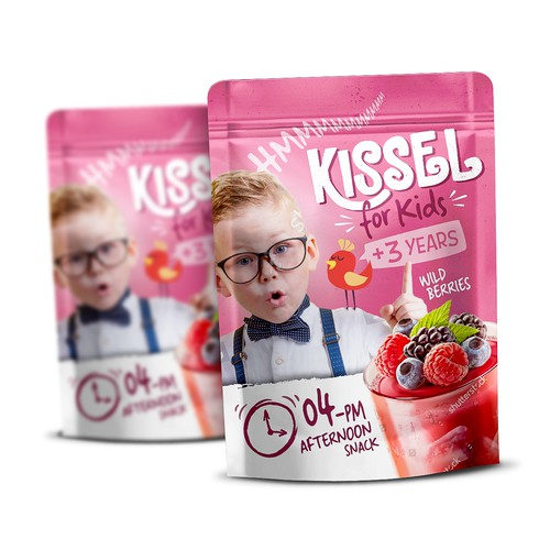 Packaging Design for Kissel