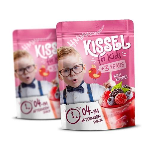 Packaging Design for Kissel