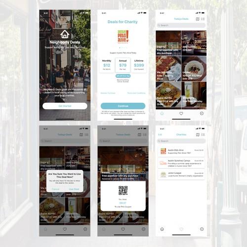 Neighborhood Deal App