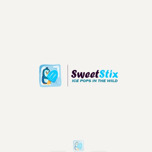 Minimalist logo for sweet stix