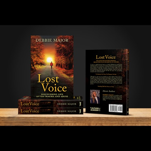 """Book cover for """"Lost Voice"""""""