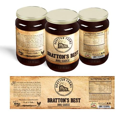 Bratton's Best BBQ sauce