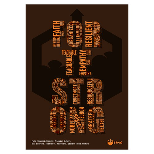 Poster concept for FORTE STRONG