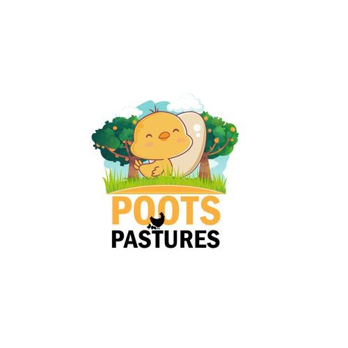 Logo concept for a farm