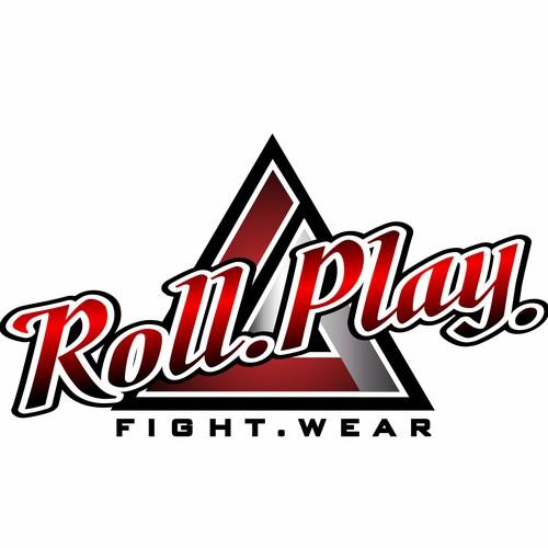 Bold logo for Brazilian martial art