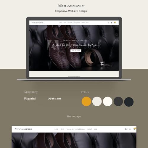 Web Design for E Commerce.