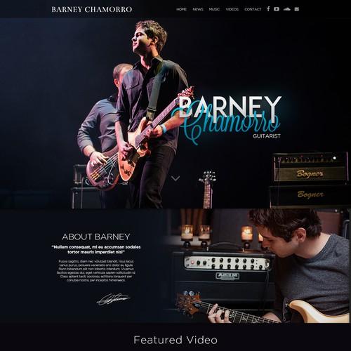 Guitarist Portfolio