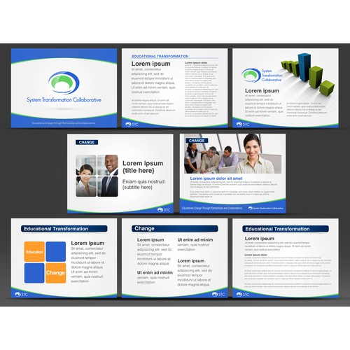 STC Powerpoint Template Design