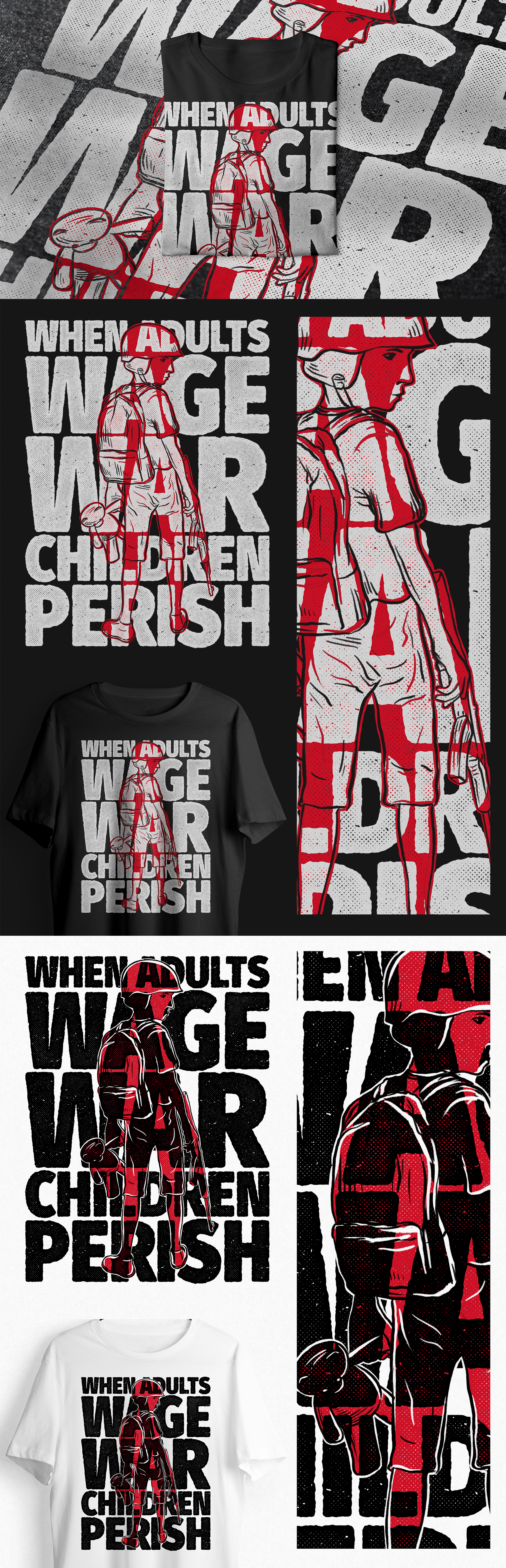 Street Wear T-Shirt For Humanity Project