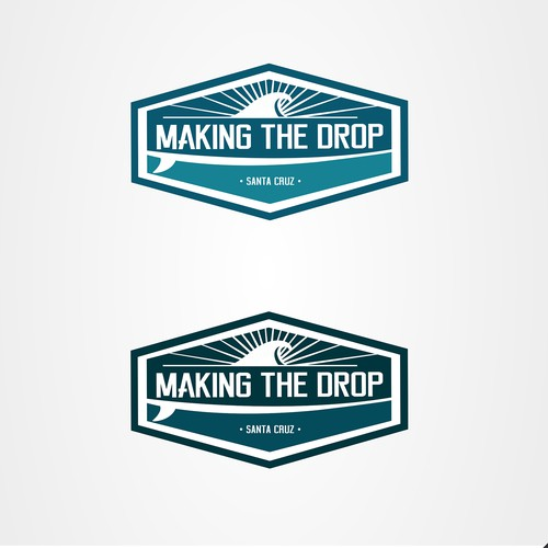 making the drop