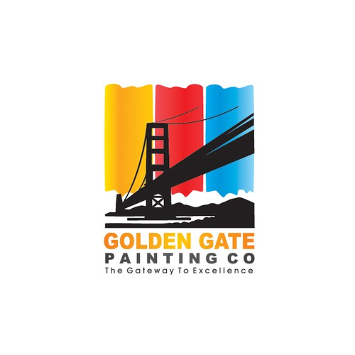 Painting company . modern clean crisp logo