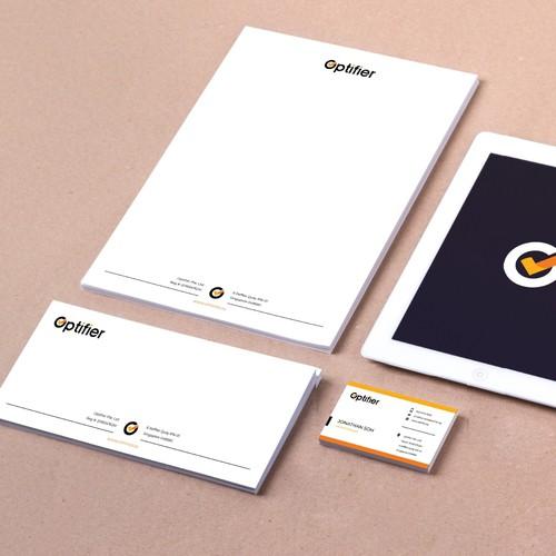Brand Identity Design for Optifier