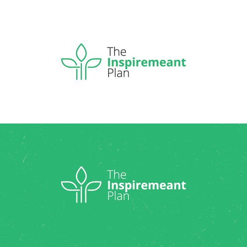 Modern logo design for The Inspiremaeant Plan