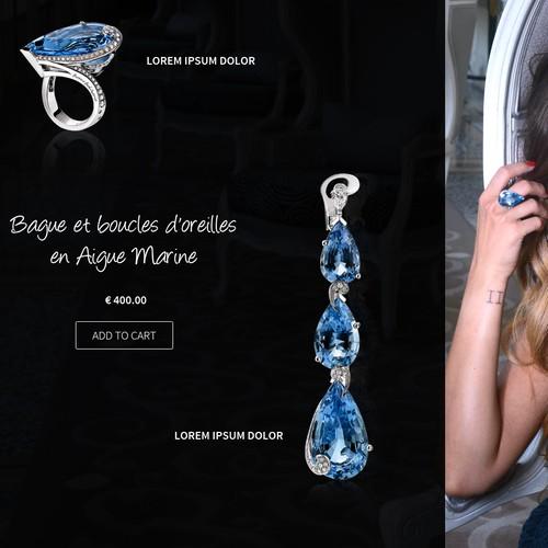 Create Magento Template for luxury jewelry brand