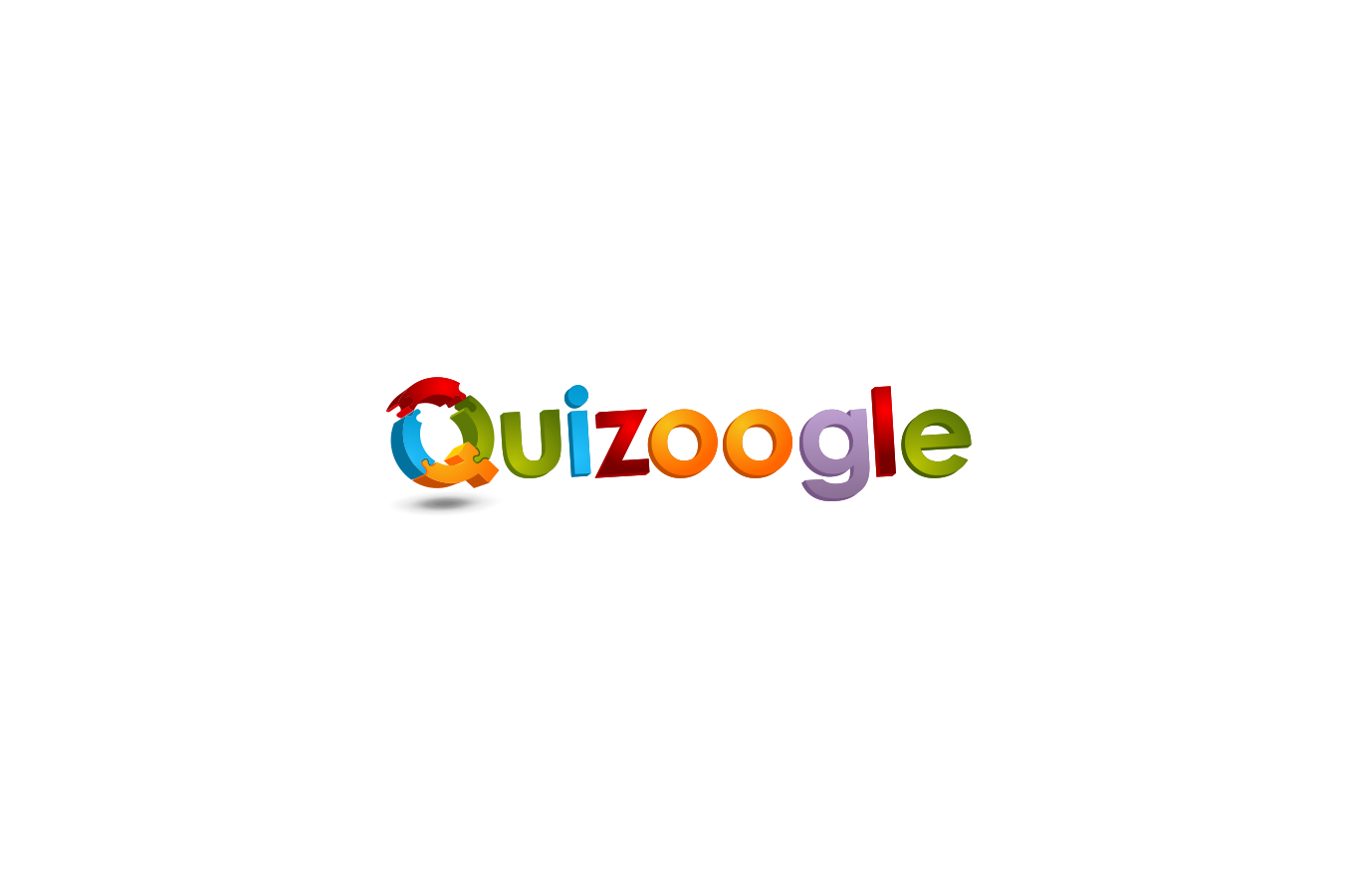 Quirky Logo for Quizoogle