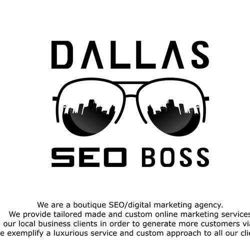 Unusual SEO company logo