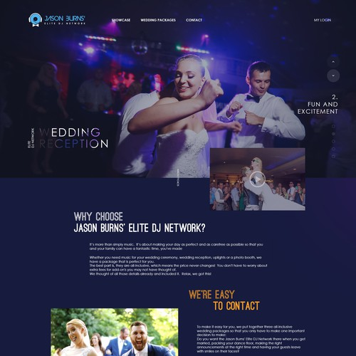 website weeding DJ