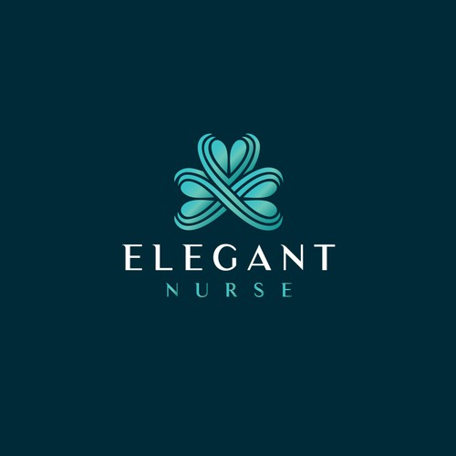 Elegant logo for Elegant Nurse