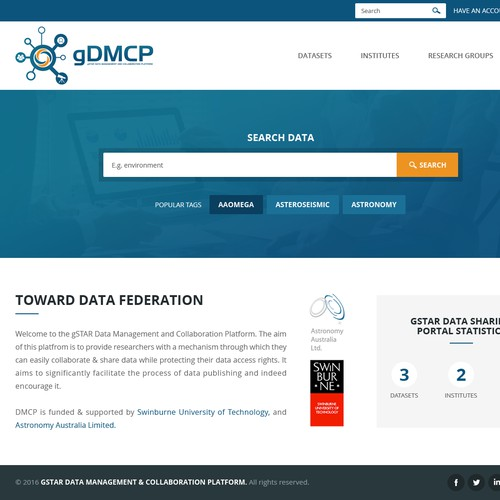 Redesign gSTAR Data Portal
