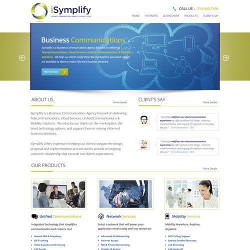 Help iSymplify with a new website design