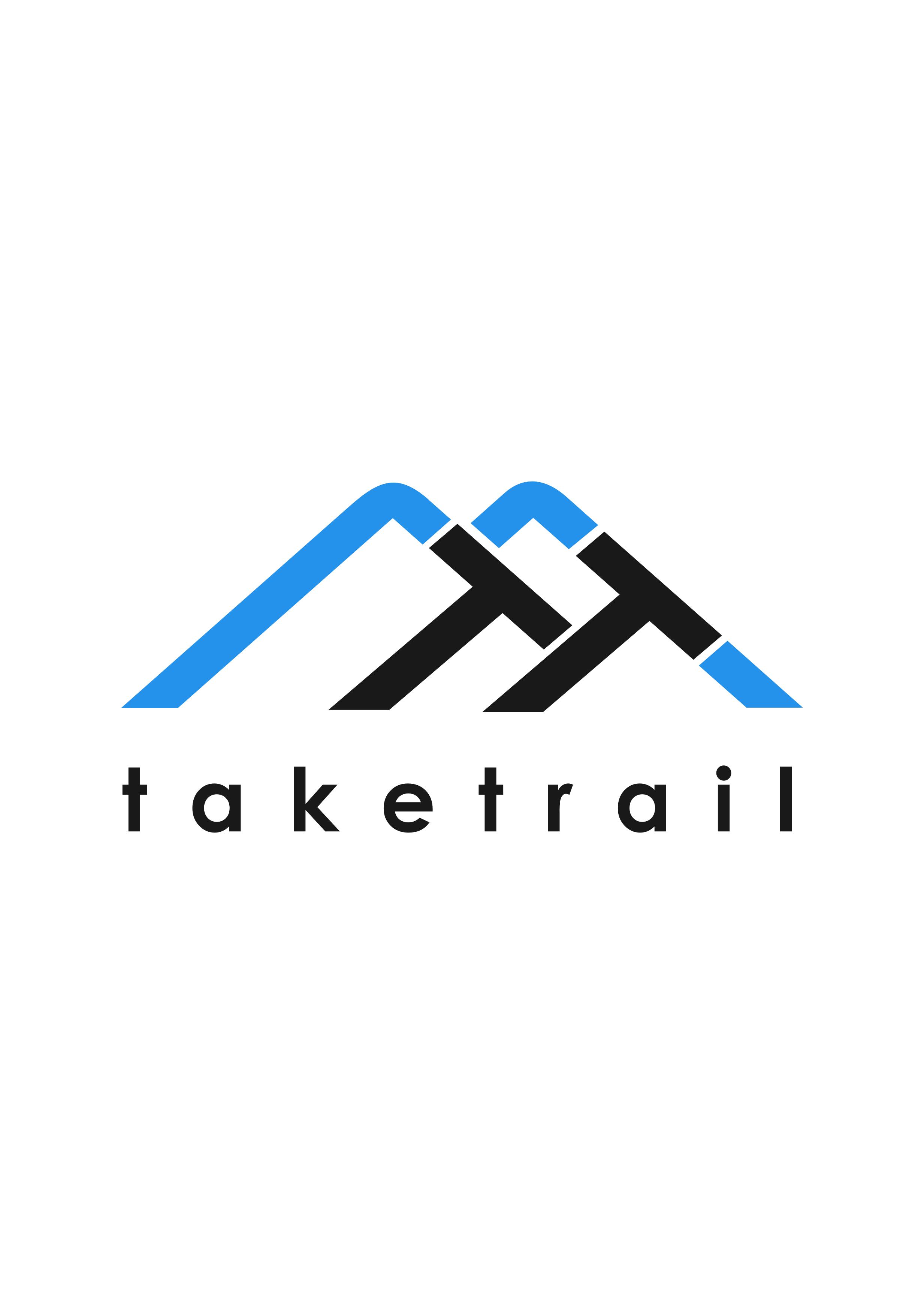 Modernes und innovatives Mountainbike-Trail-Planer Logo