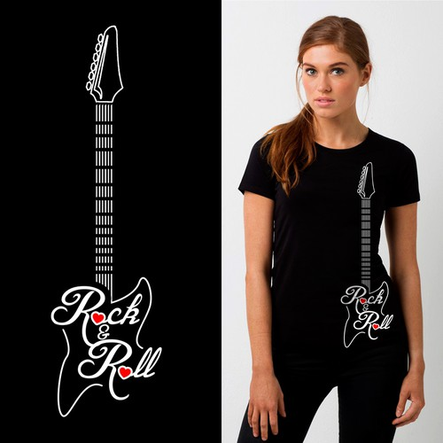 Music Themed Tee Shirt for Charity, In Concert for Cancer