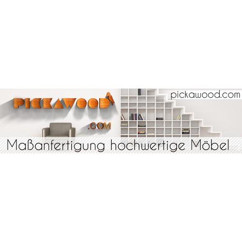 Möbel nach Maß - Banner (Displayanzeigen) für hochwertige Massivholzmöbel