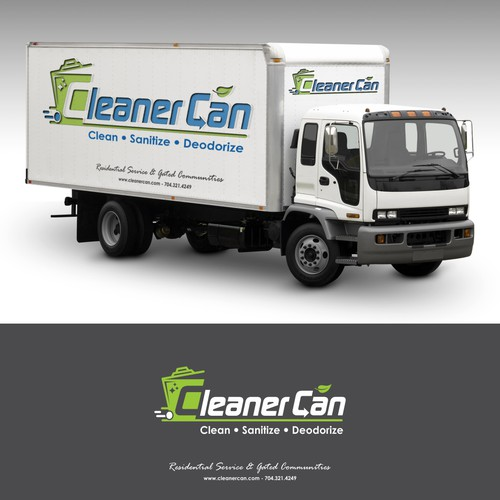 Logo for Trash Can Cleaning Company
