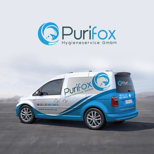 Proposed Vehicle Wrap for Purifox