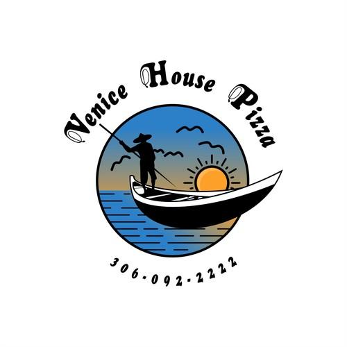 Logo Concept For Venice House Pizza