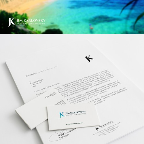 Develop brand identity for a luxury real estate company in Hawaii