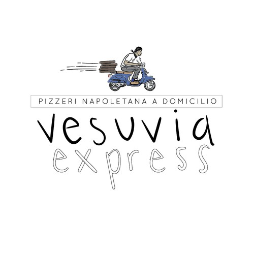 Logo Concept for Vesuvia Express