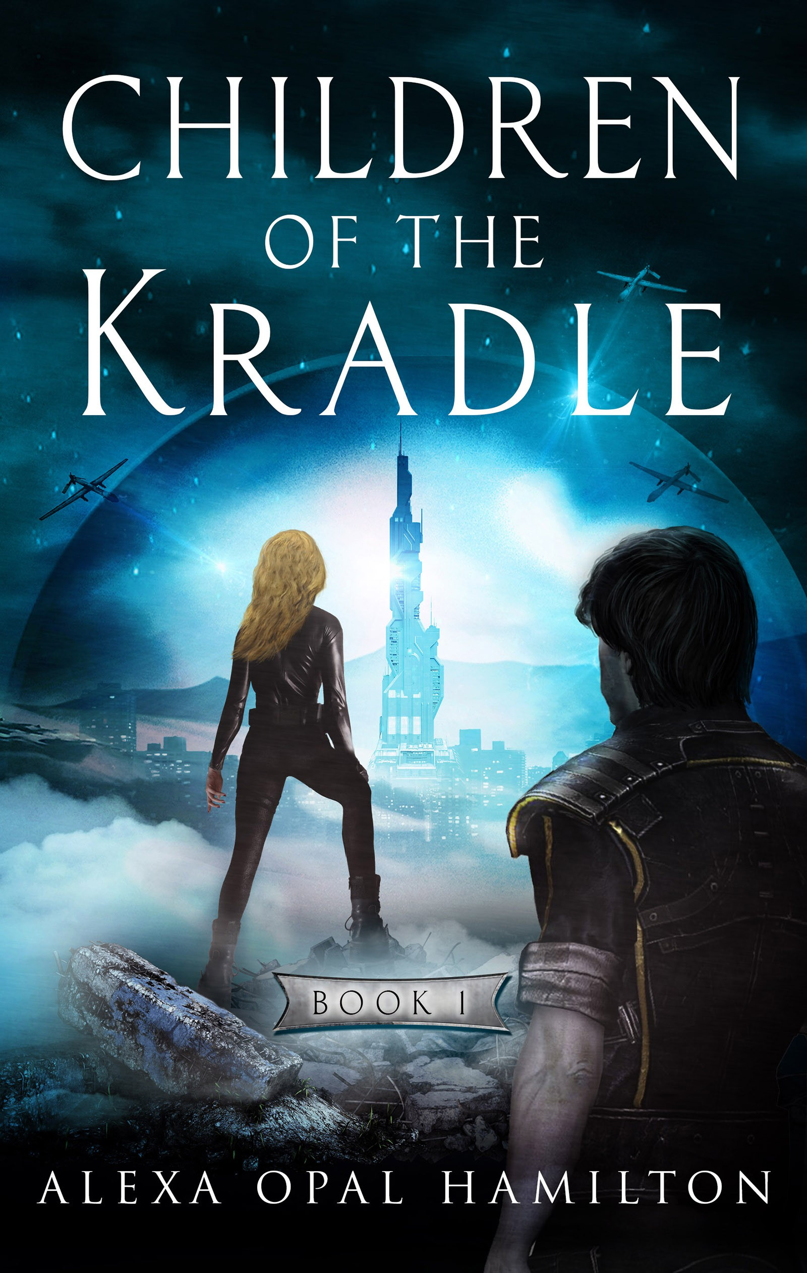 Fiction Ebook cover for 1st book of a trilogy (futuristic, dystopian)