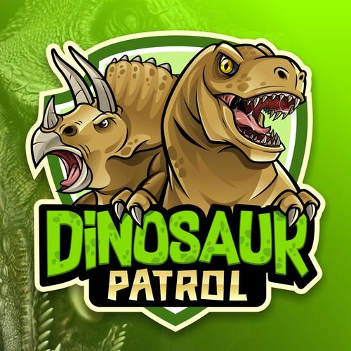 Dinosaur Patrol Logo