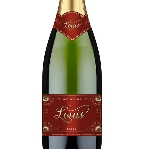 Label Design for Sparkling Wine