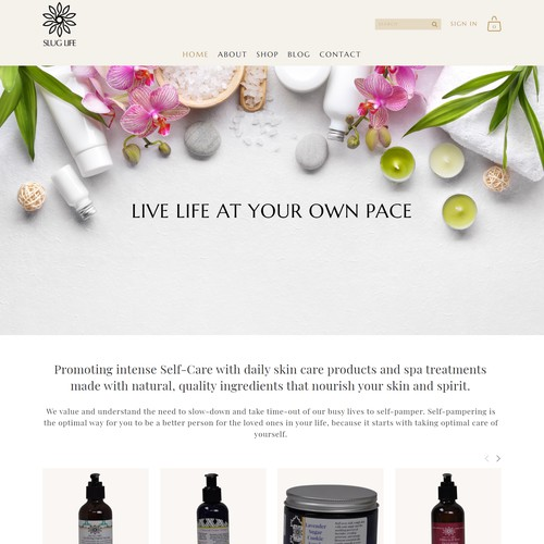 Website Redesign For Slug Life