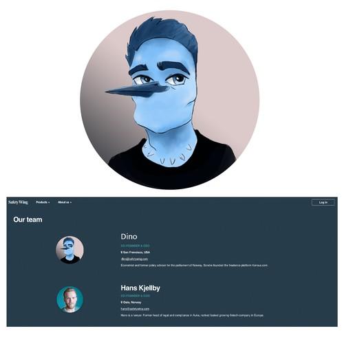 blue bird profile pic