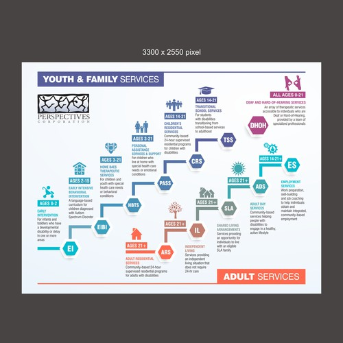 Infographic for Human Services Agency